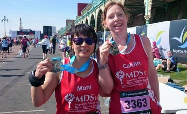 Unstoppable Caitlin Limmer running in aid of MDS in 2015