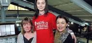 Vicky, Olivia and Lisa, MDS Heroes